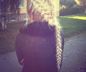 blond, fall, and finland image