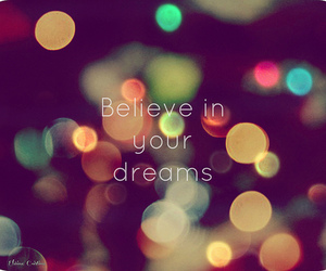 dreams and believe image