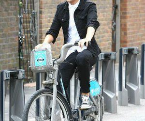 bike, lol, and louis tomlinson image
