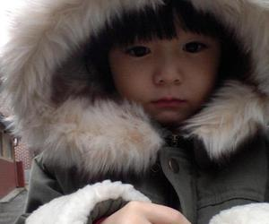 baby, Leo, and korean image