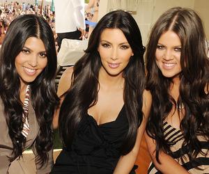kardashian, kim kardashian, and khloe kardashian image