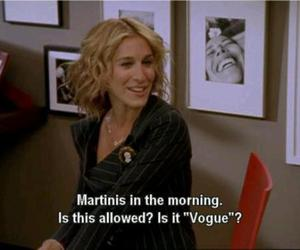 martini, Carrie Bradshaw, and sex and the city image