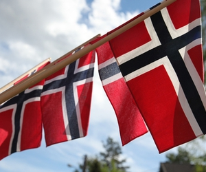 norway, flag, and sun image