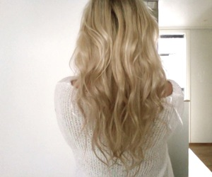 blond, curls, and fashion image