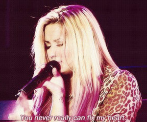 quote, demi lovato, and hair image