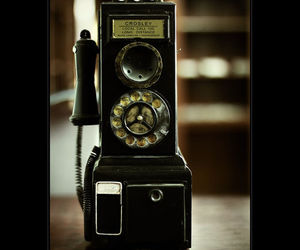 old fashion, phone, and rustic image
