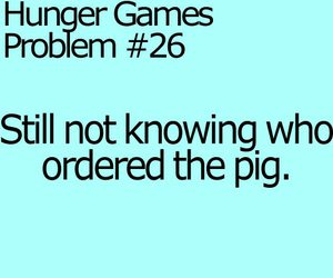 funny, the hunger games, and text image