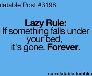 Lazy, bed, and forever image