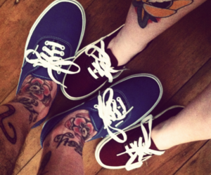 vans, tattoo, and boy image