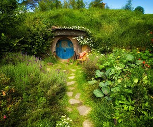 hobbit, nature, and green image