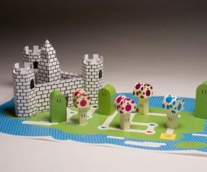 Super Mario Board Game - Papercraft - Chunnel image