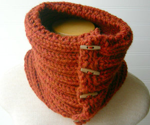 autumn, chunky, and cowl image
