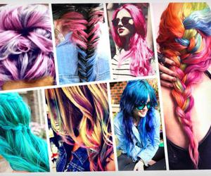 hair, colors, and hairstyle image