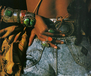 fashion, shorts, and hippie image