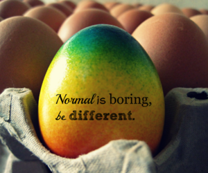different, quote, and normal image
