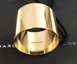 marc jacobs, fashion, and gold image