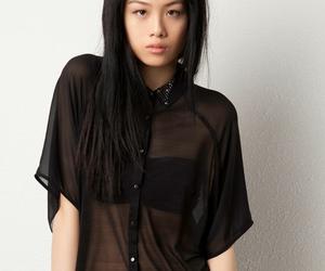 asian, asian fashion, and black image