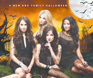 Halloween, pretty little liars, and shay mitchell image