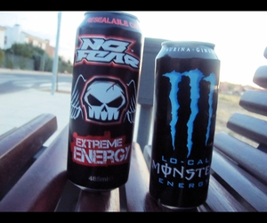 monster energy, no fear, and brutaltragedies image