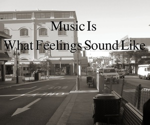 bench, feelings, and music image