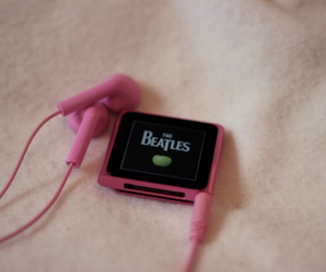 music, the beatles, and ipod image