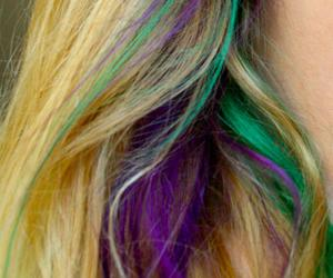 colour, curls, and green image