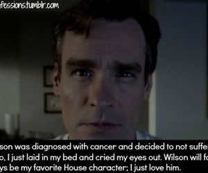 confession, house md, and james image