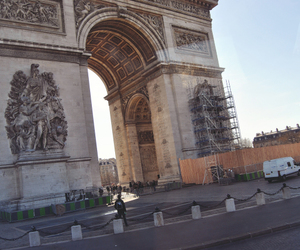 arc de triomphe, paris, and photography image