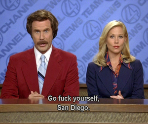 anchorman, will ferrell, and christina applegate image