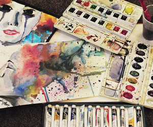 art, artwork, and paint image