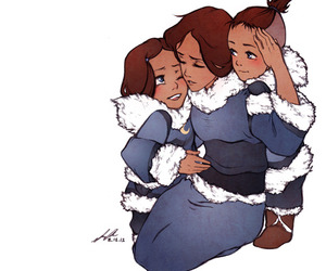 avatar, sokka, and katara image