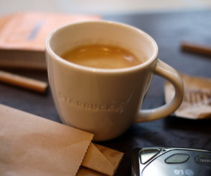 coffee, starbucks, and drink image