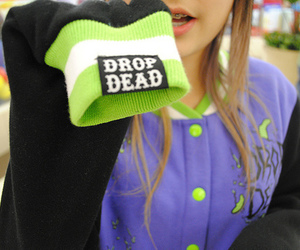 girl, drop dead, and photography image