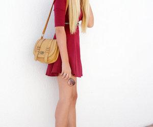 bag, beautiful, and blonde image