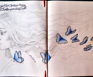 art, borboletas, and butterfly image