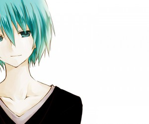 anime, black shirt, and vocaloid image