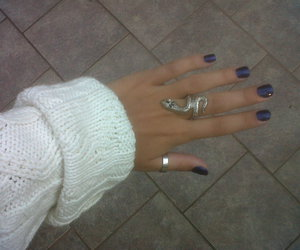 accessories, hand, and fingernails image