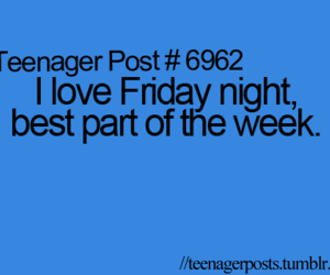 friday and teenager post image