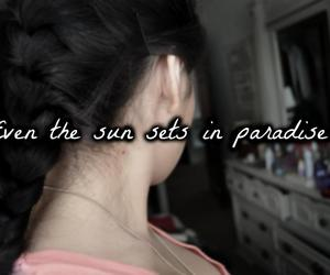 in, sun, and paradise image