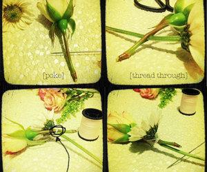 diy, flowers, and crown image