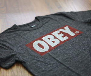 obey, fashion, and shirt image
