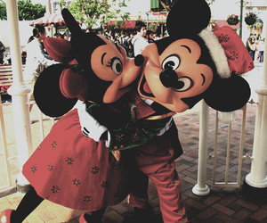 mickey mouse, love, and cute image