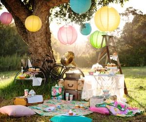 picnic, summer, and nature image