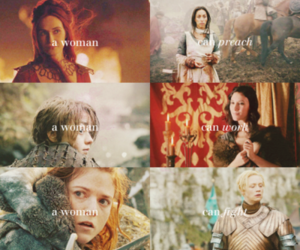 a woman and game of thrones image