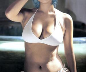 cosplay, Neon Genesis Evangelion, and rei ayanami image