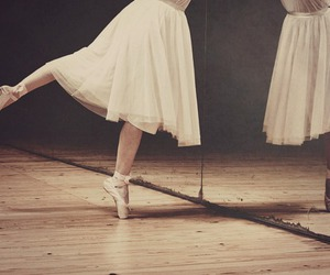 ballet, girl, and vintage image