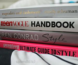 books, fashion, and pastels image