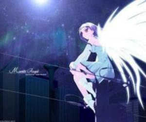 angel, anime, and wings image