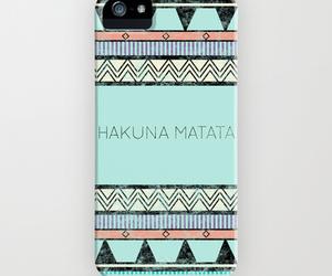 hakuna matata, iphone, and case image