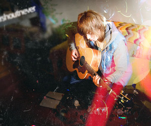 nevershoutnever and guitar image